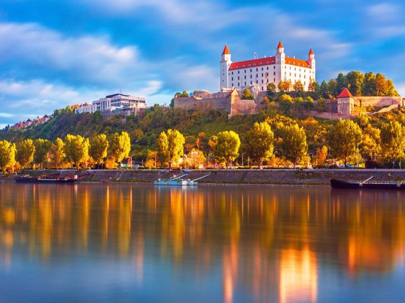 Danube - Bratislava Castle