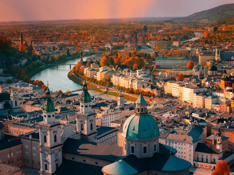 Salzburg - Danube