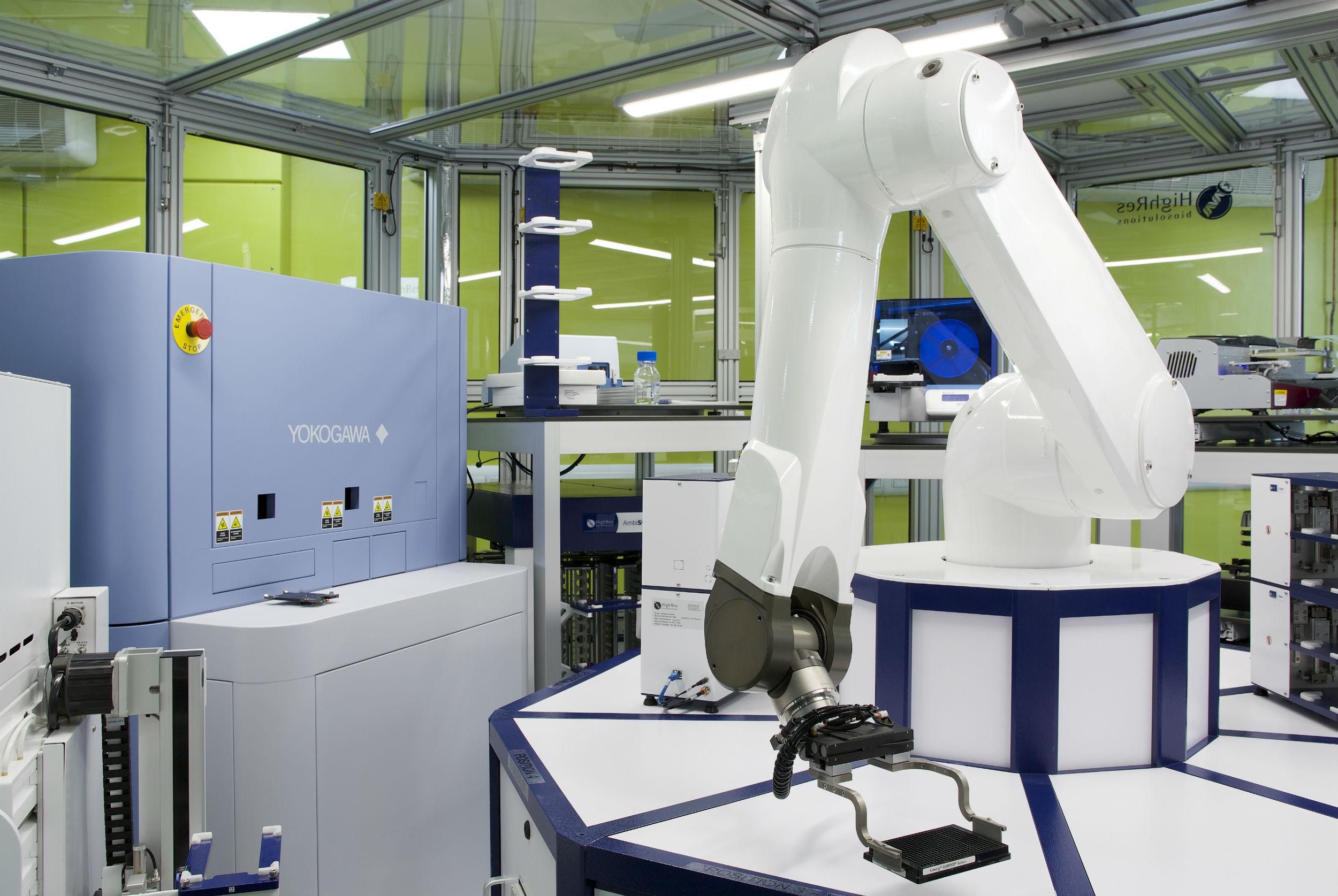NPSC robot and microscope
