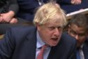 Prime Minister Boris Johnson speaks during Prime Minister's Questions in the House of Commons on January 29, 2020.