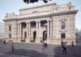 Artists' impressions show how Perth City Hall could look after its transformation.