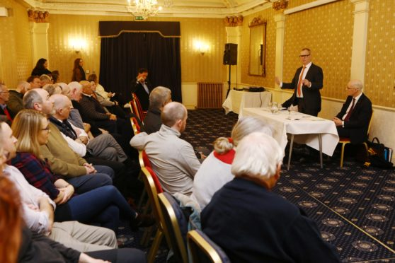 The public meeting with retailers concerning the future of Perth city centre