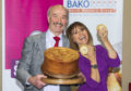 Alan Pirie with Carol Smillie collecting his award.