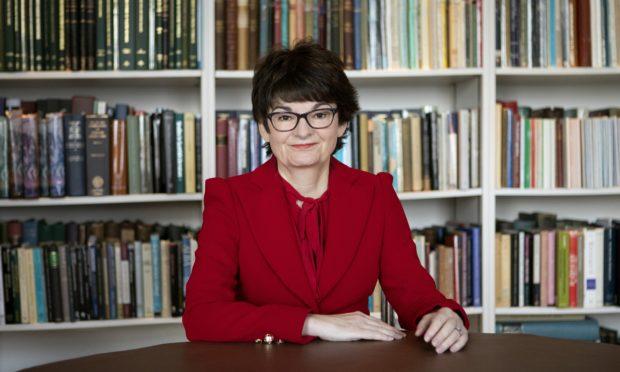 Professor Sally Mapstone, the Principal of the University of St Andrews.