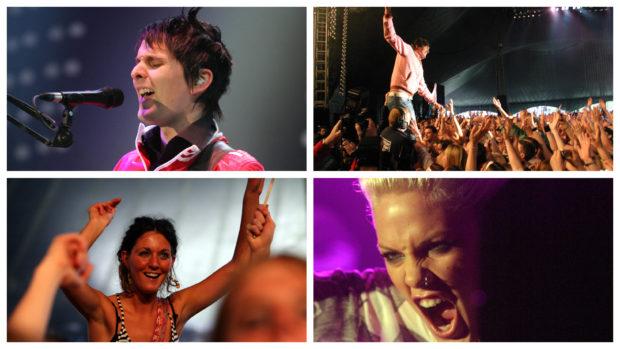 Radio 1's Big Weekend in Dundee in 2006.