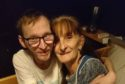 Ross Scott with his mum Karen.