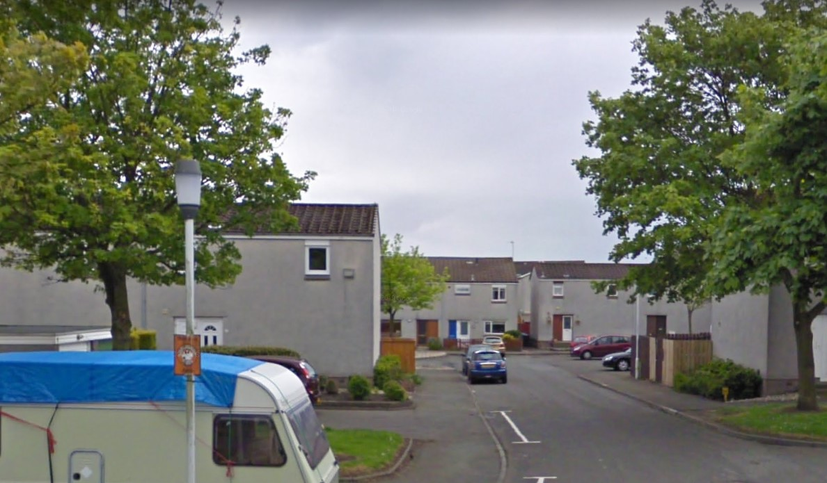 Russell Court, Dunfermline (stock image).