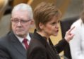 First Minister Nicola Sturgeon during a Holyrood debate on 'Scotland's Future'.
