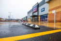 Raised ledges by the disabled bays at St Catherine's Retail Park.  Picture: Steve MacDougall.