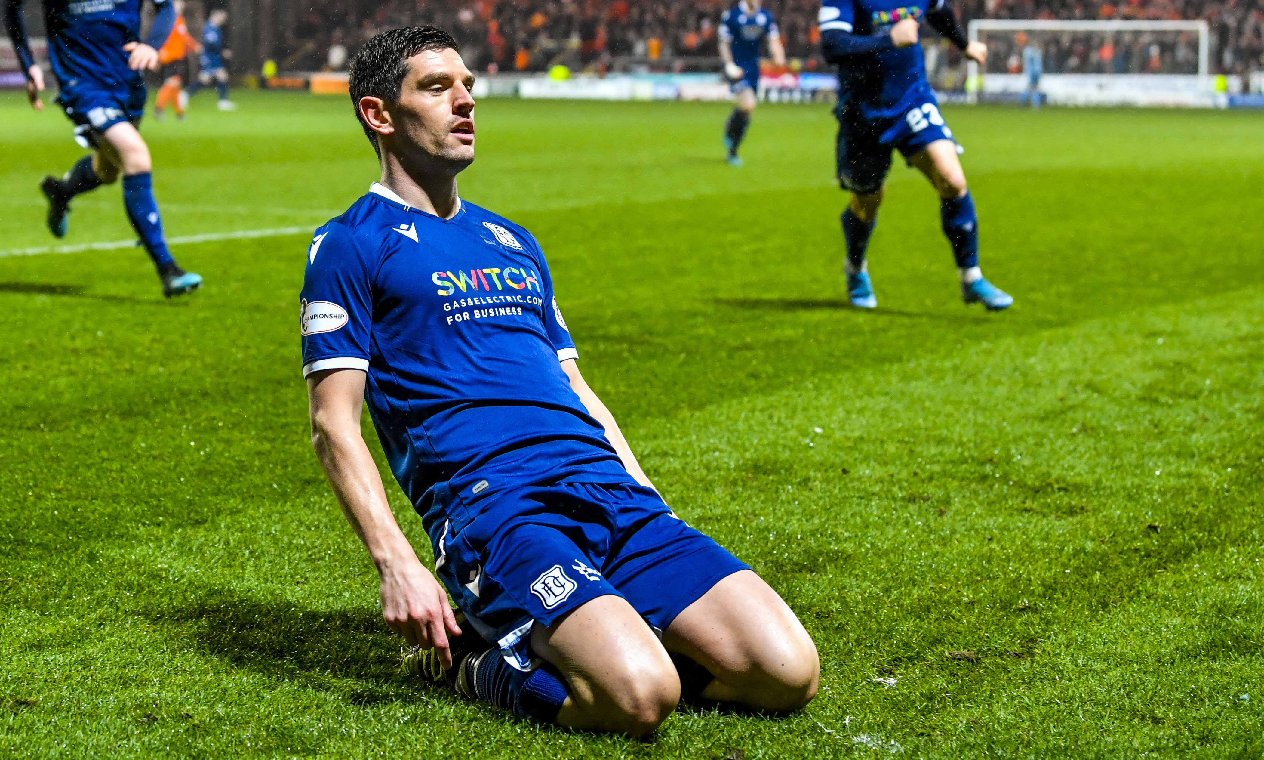 Charlie is looking forward to teaming up with Graham Dorrans.