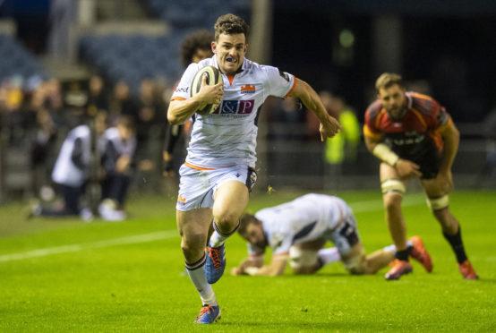 Edinburgh's Matt Scott faces a key test against Bordeaux's Fijian star Semi Radradra.