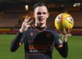 Lawrence Shankland after another hat-trick.