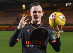 Dundee United hot shot Lawrence Shankland is destined for the top, says former Tangerine Steven Thompson