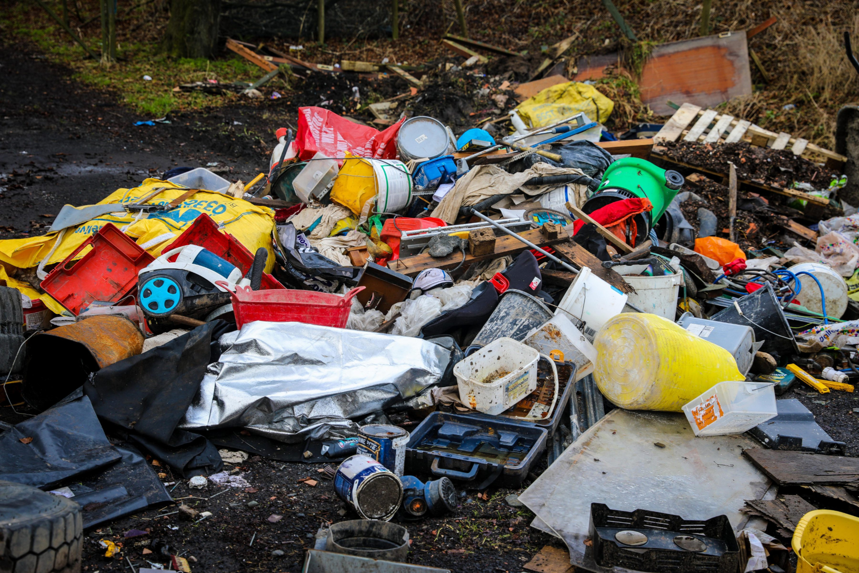 Flytipping like this has blighted Fife communities
