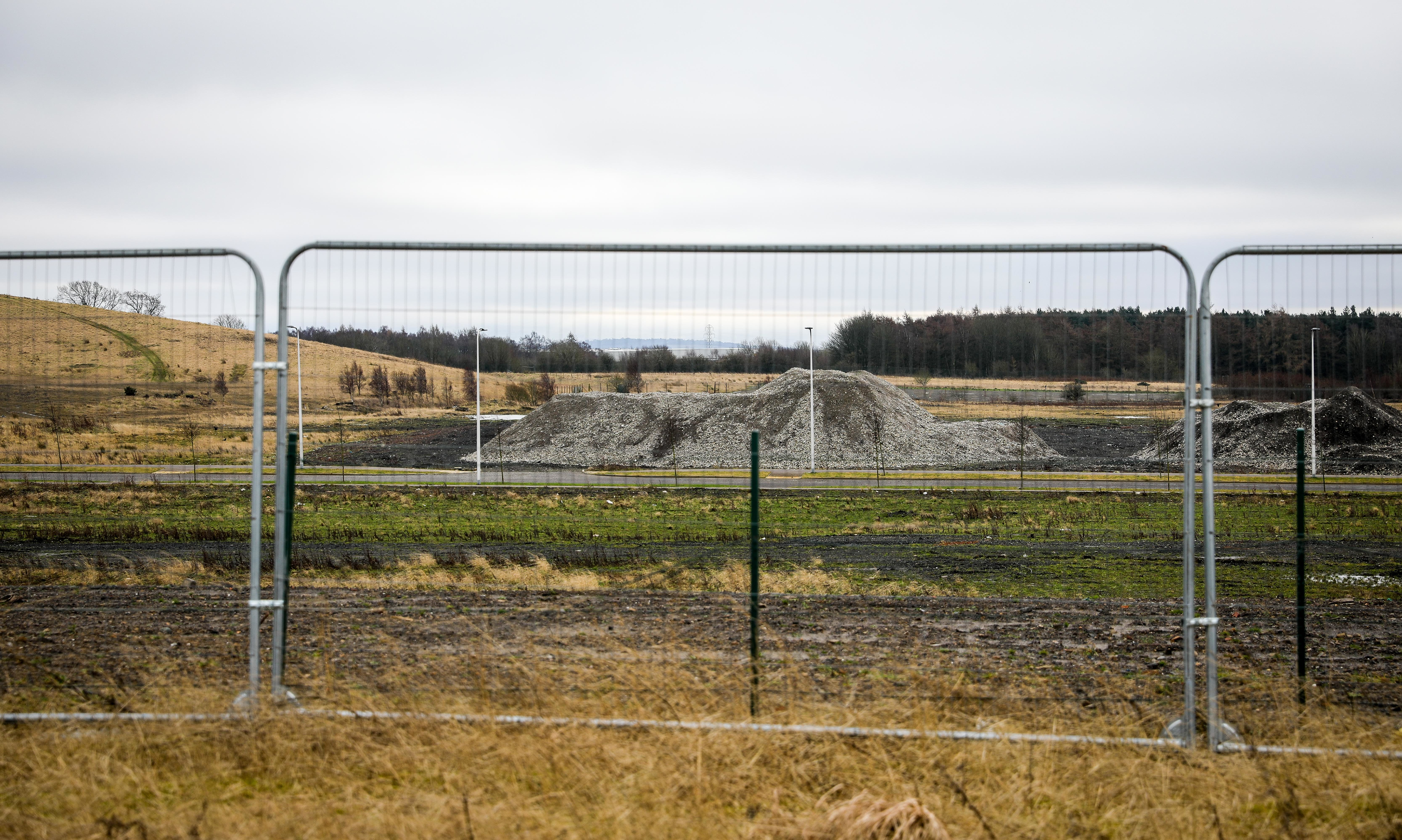 The former Hyundai/Freescale site at Dunlin Drive, Dunfermline.
