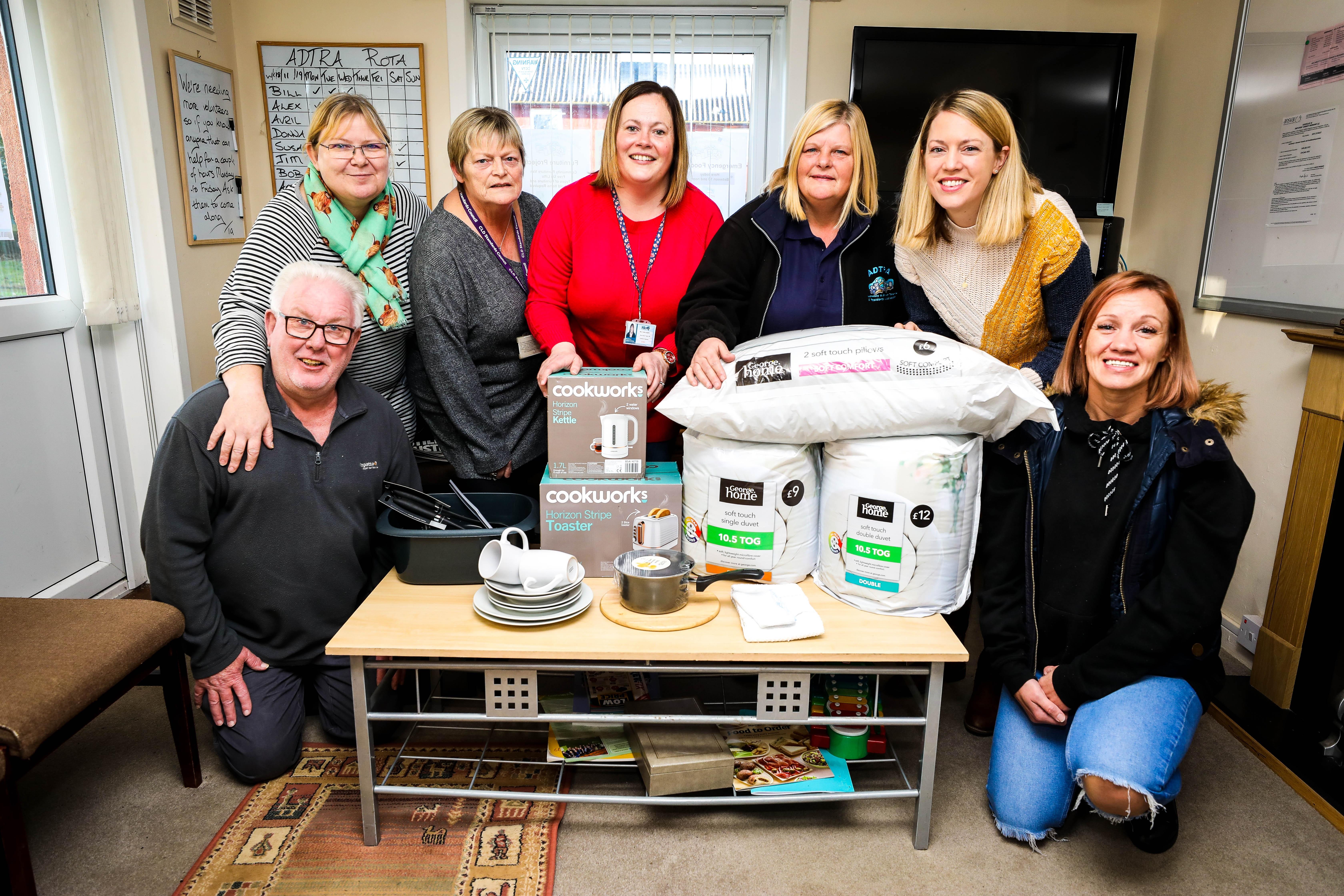 Bill Forbes, Alex Thomson, Shirley Crawley, Courtney McLaughlin (Carlton Nursery), Donna Hancock, Jenny Gilruth and Amanda O'Neill.