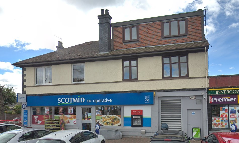 Scotmid in Invergowrie (stock image).