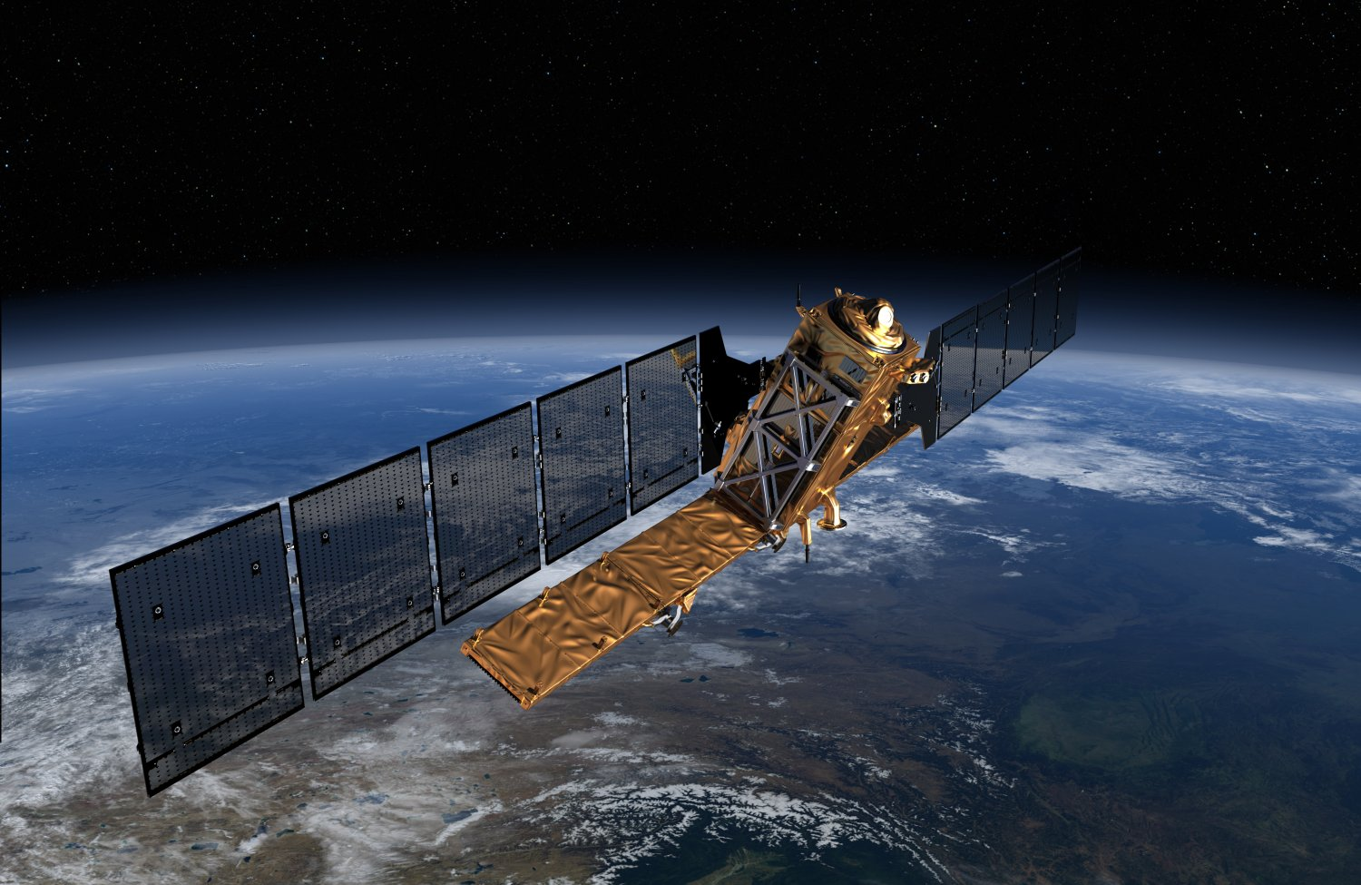 The Dundee facility collects images taken by satellites