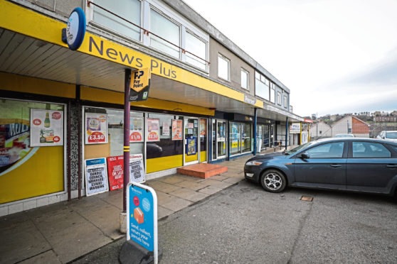 Aedan Kelly tried to rob News Plus in Lochee
