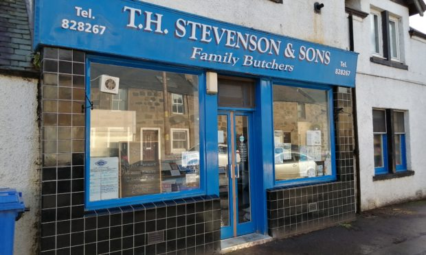 T.H Stevenson and Sons butchers in Stanley