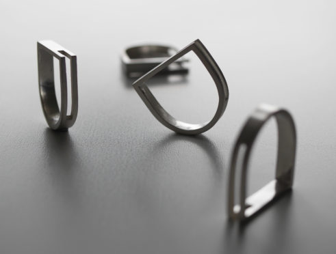 C02_D-shaped rings created by Kate McLaughlin.