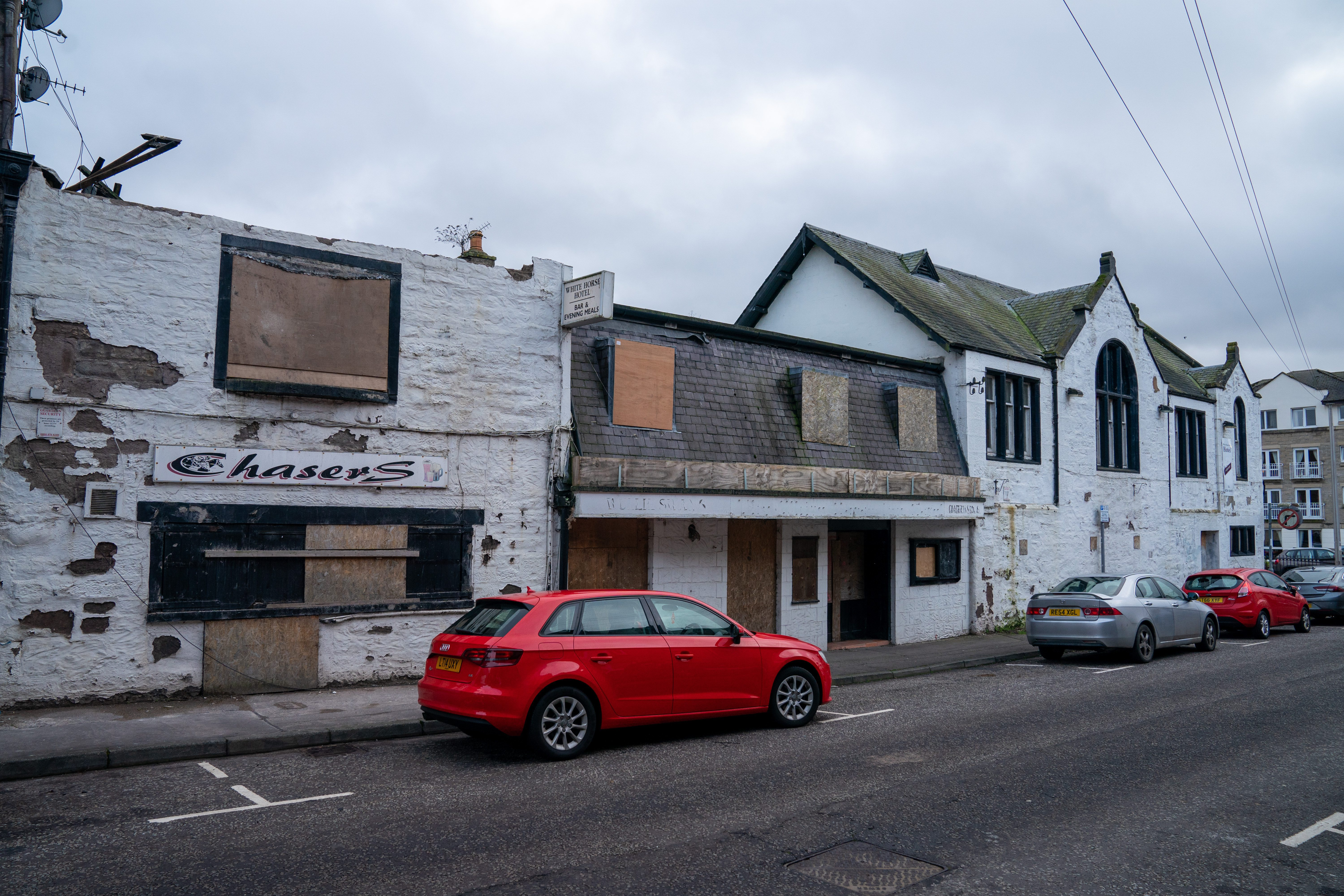 The White Horse Inn in Perth at the start on January 2020
