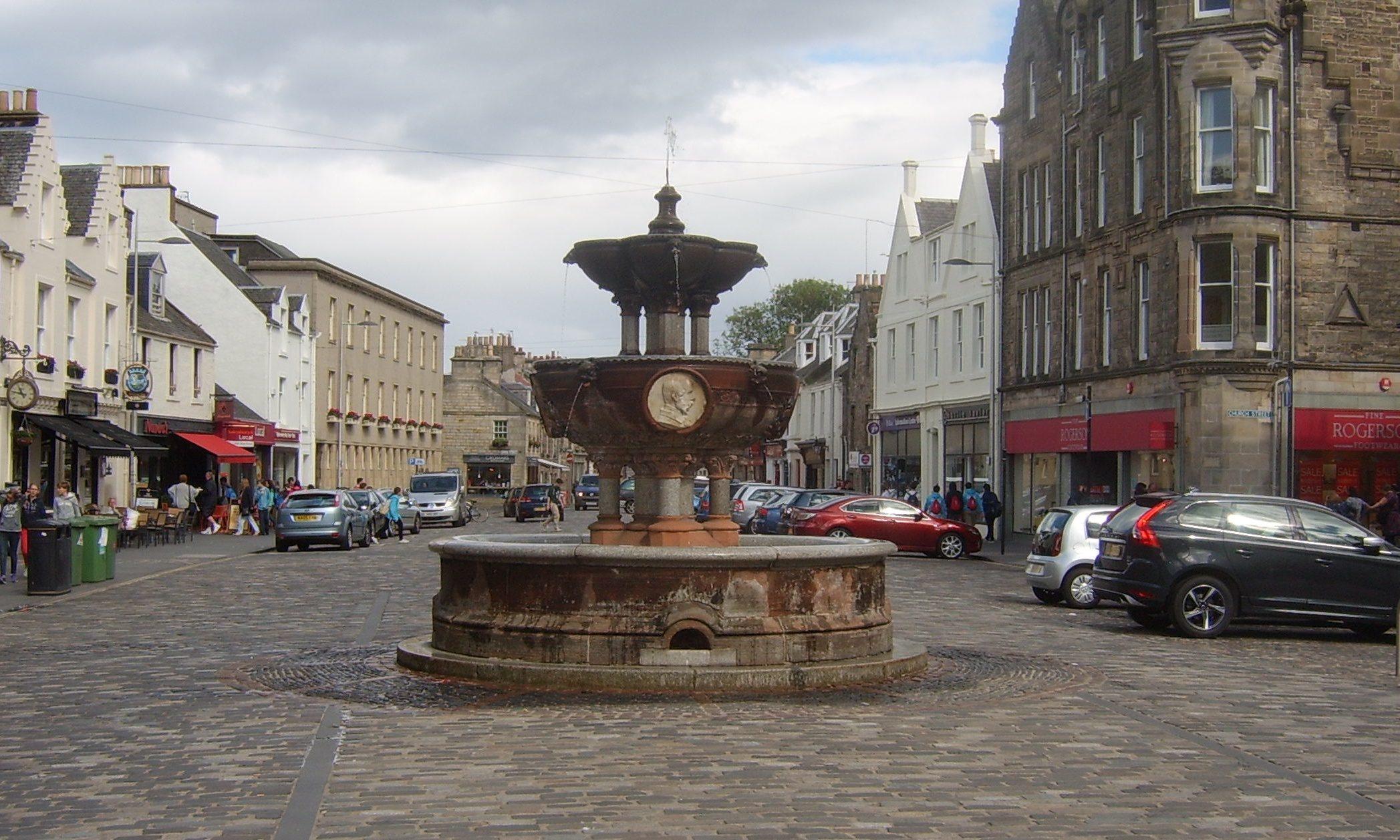 Whyte-Melville Memorial Fountain, St Andrews, Fife.