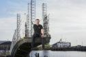 "Andy Garthwaite, aka the ""bionic man"", is the Cateran Yomp 2020 ambassador."