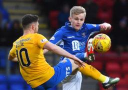 St Johnstone boss Tommy Wright expects bids for star midfielder Ali McCann in next transfer window