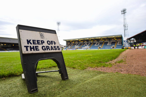 Dundee players have taken pay cuts, with the Championship on ice until October.