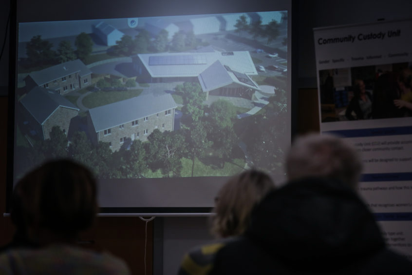 Attendees at the meeting were shown images of the proposed unit