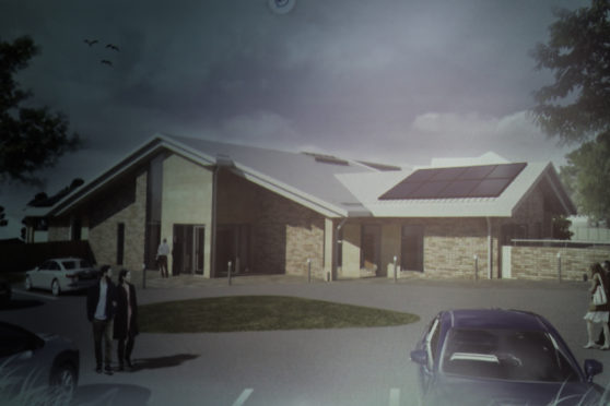 An image of the accommodation at the proposed women's custody unit.