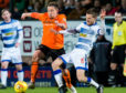 Peter Pawlett and the rest of the Dundee United team found it hard to break Morton down.