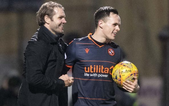 Robbie Neilson and Lawrence Shankland.