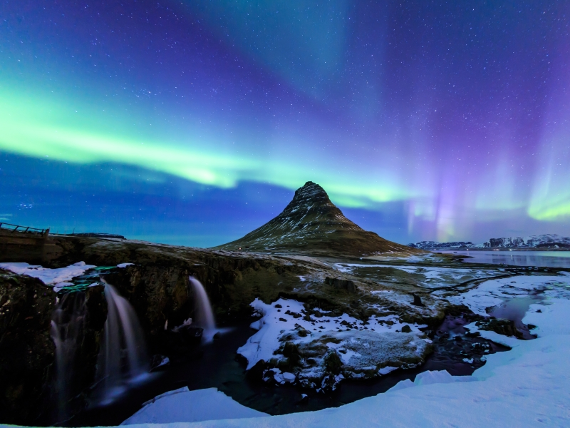 Go out in search of the Northern Lights.