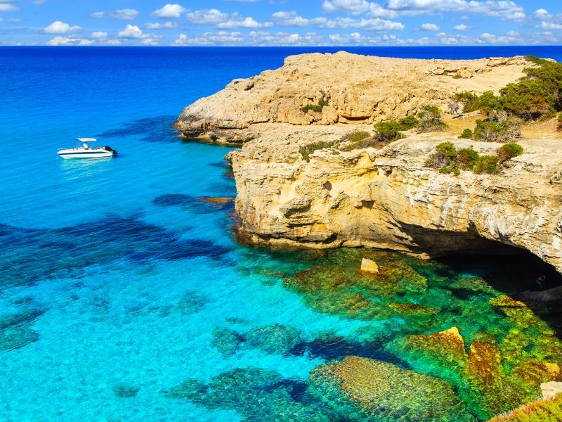 The Akamas Peninsula, Cyprus.