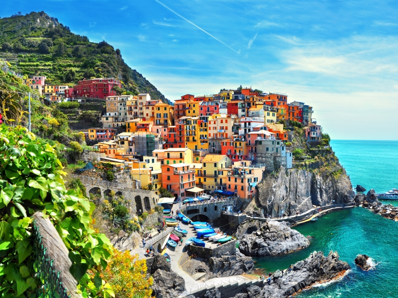 The colourful villages of the Cinque Terre are just one excellent walking itinerary available for 2020.
