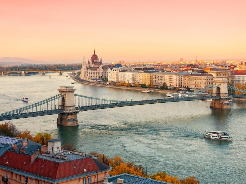 Blue Danube River
