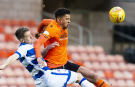Osman Sow sees good signs of Dundee United strike partnership with Lawrence Shankland