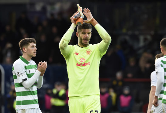 Rab has been impressed with Celtic star Fraser Forster this season