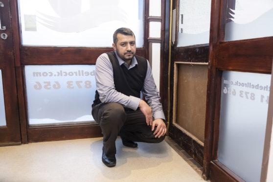 Muhammad Arshad at the Bellrock