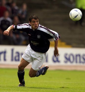 Nacho Novo in action during his Dundee days