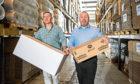 Gordon Delaney and Joe Diamond, founders of Pitreavie Packaging.