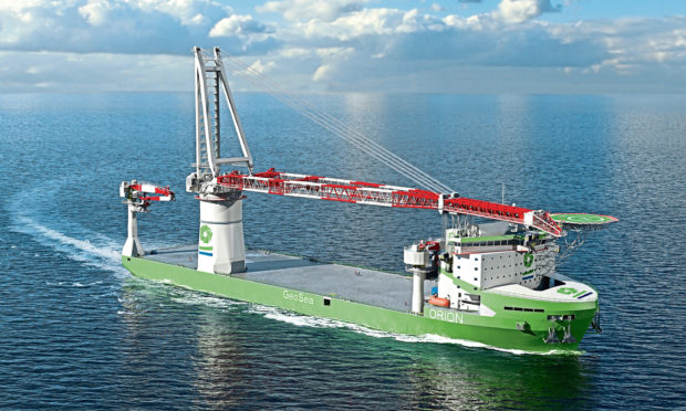 Belgian company DEME has selected Wartsila machinery for its new construction ship Orion  The world's first LNG fuelled offshore construction vessel being built for DEME will be powered by Wärtsilä.