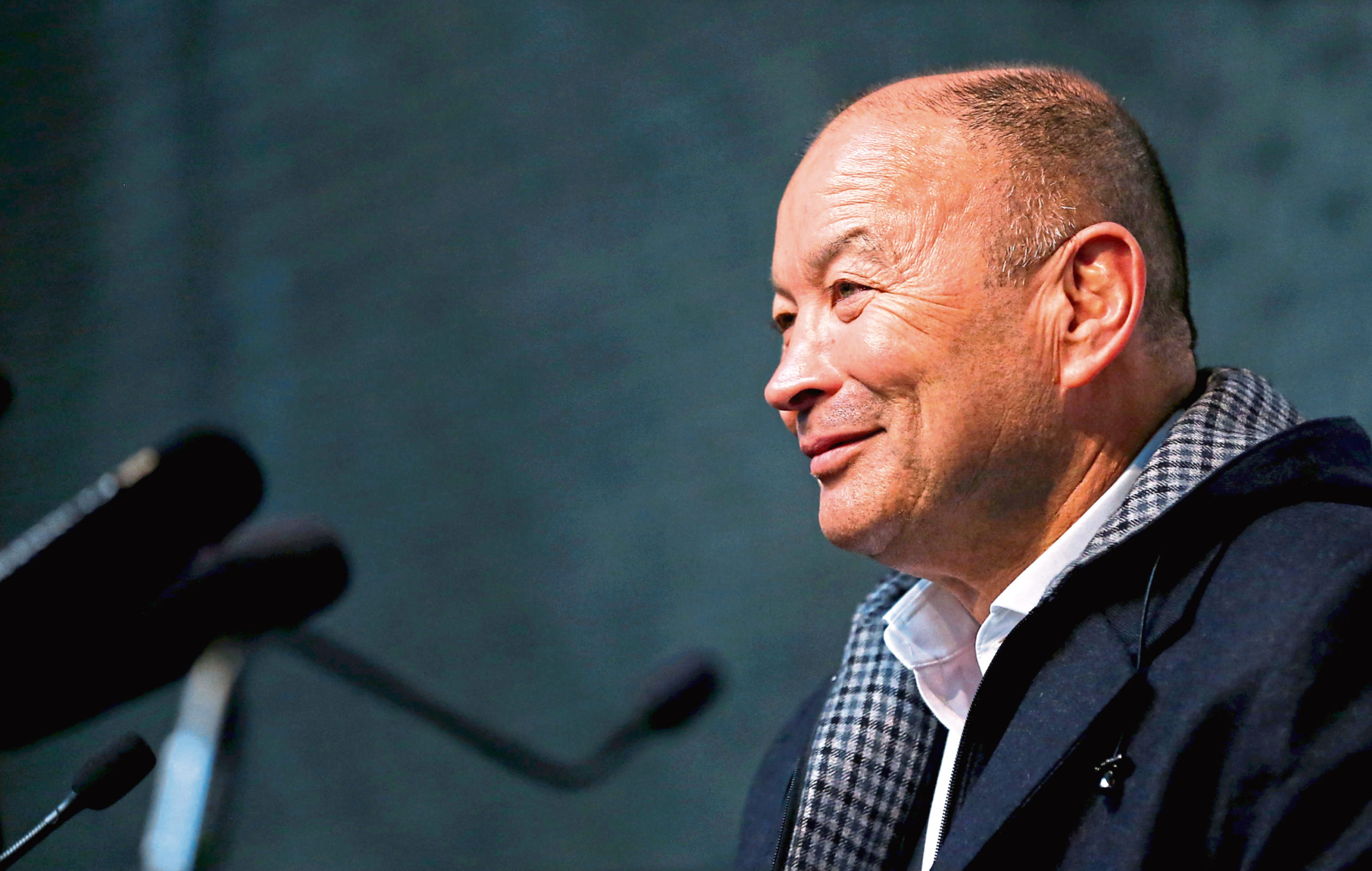 England Head Coach Eddie Jones enjoys his sparring with the media, and the feeling's mostly mutual.