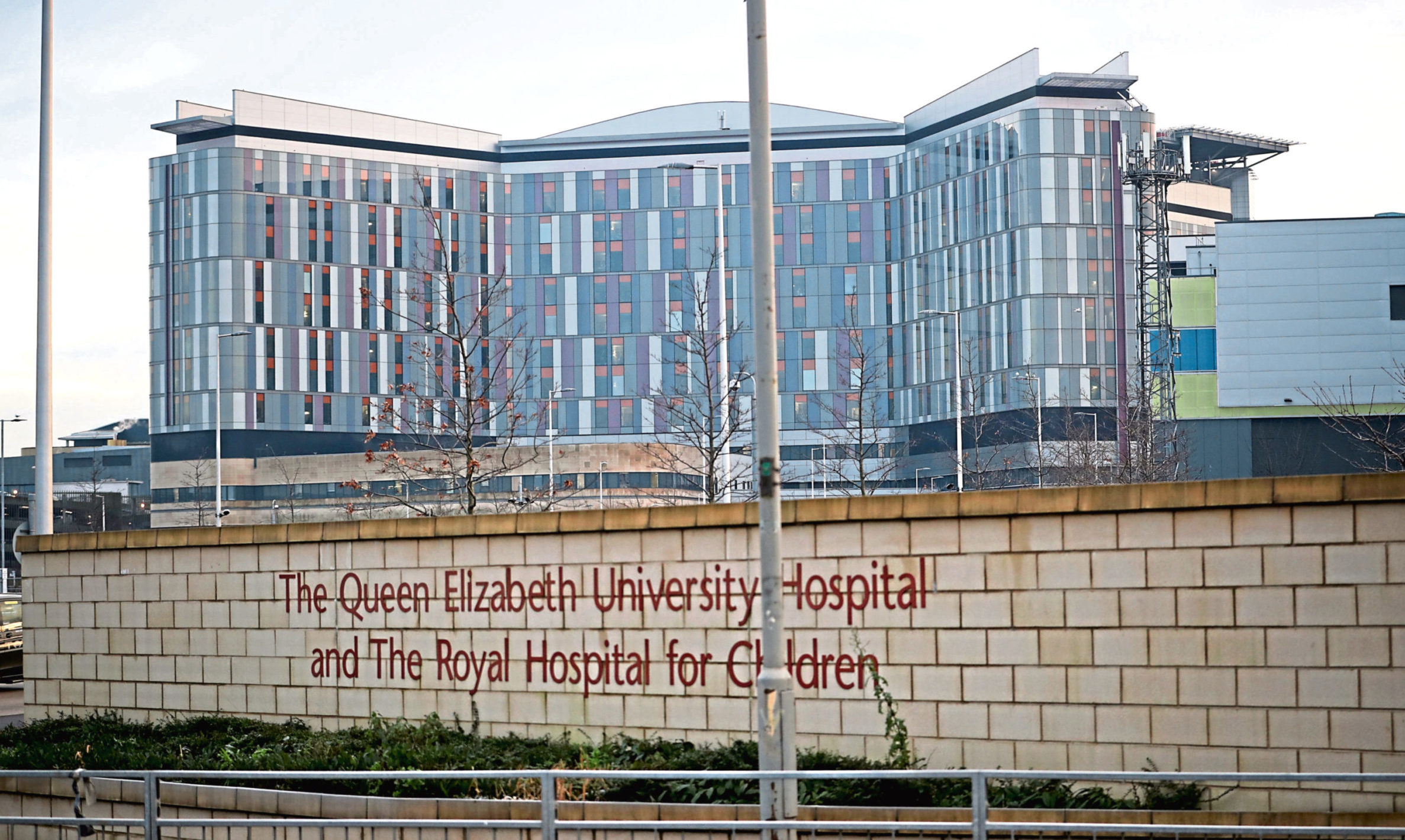 Queen Elizabeth University Hospital in Glasgow.
