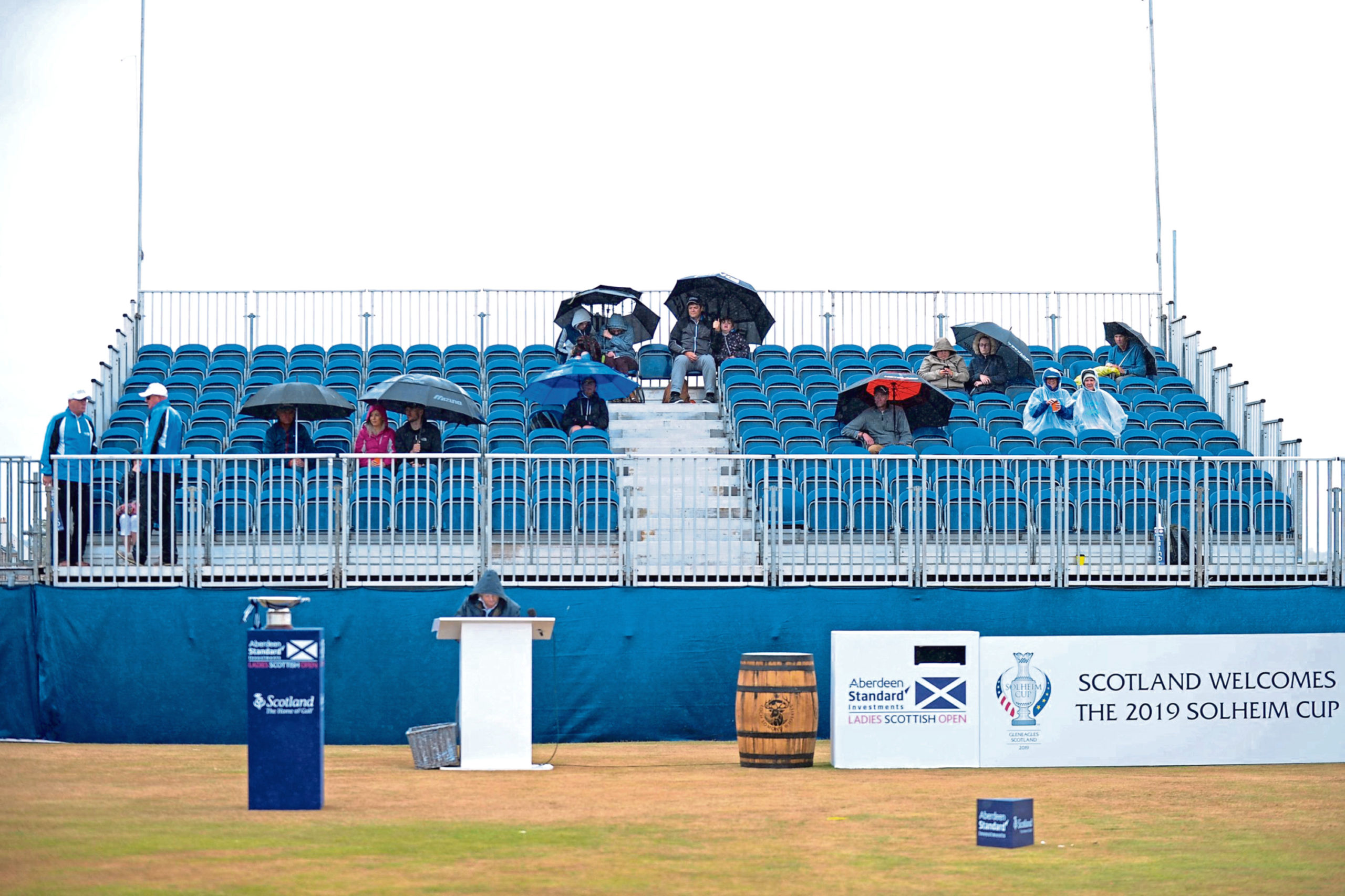 The ladies Scottish Open is held a month after the men's version at the same venue, but suffers at the box office.