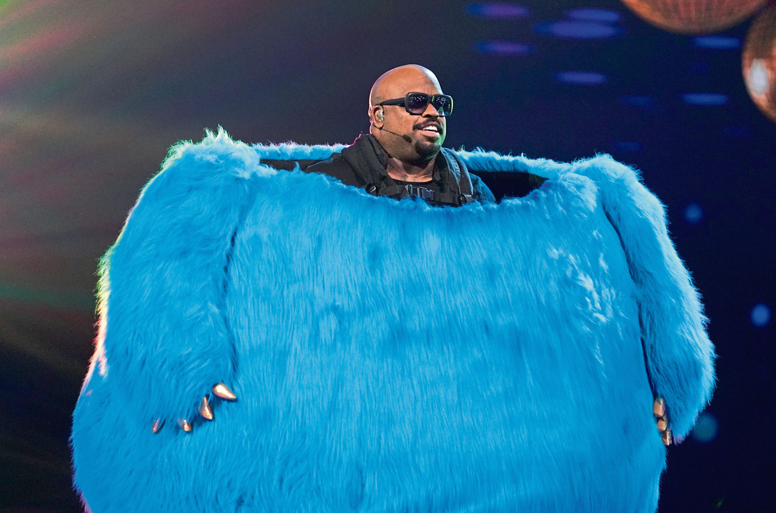 Monster in exposed as CeeLo Green in The Masked Singer.