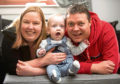 Miracle baby Callan McGerty, from Falkirk, Stirlingshire, is a healthy one-year-old - after his mother refused doctors calls to abort her baby 20 times and instead kept him alive.
