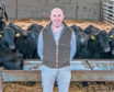 Richard Barbour is trialling the new supply partnership, which is being run in conjunction with Scotbeef, Harbro, and Genus ABS.